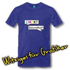 T-shirts für Grafiker und Typographen